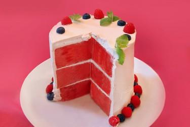 WATERMELON CAKE Vegan GF Raw Abby Phon