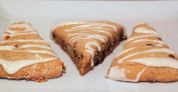 Vanilla pumpkin scones