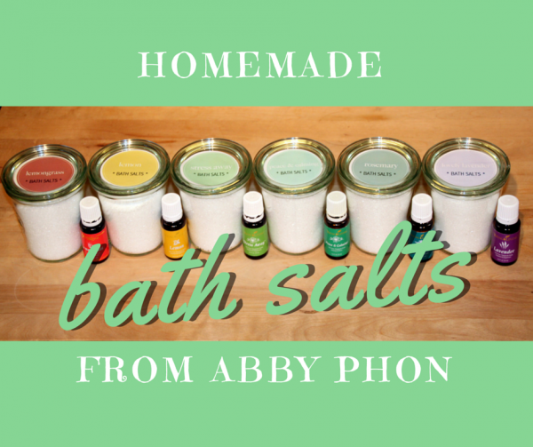 Home Made Bath Salts