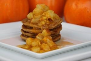Pumpkin Pancakes (Vegan & Gluten Free)