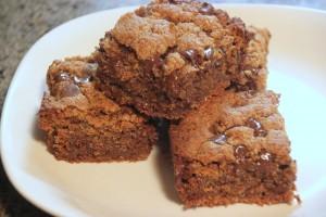 Almond Butter Brownies (V & GF)