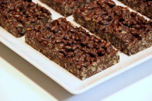 Peppermint Crunch Bars (Vegan & Gluten Free)