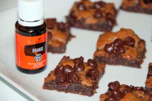 Orange Chocolate Brownies (Vegan & Gluten Free)