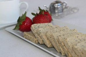 Earl Grey Shortbread (Vegan & Gluten Free)