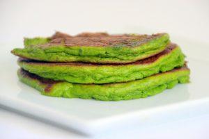 Green Pancakes (vegan & gluten free)
