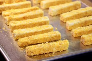 Crispy Baked Tofu Fingers! (Vegan & Gluten Free)
