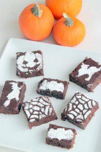 Pumpkin Brownies (Vegan & Gluten Free)