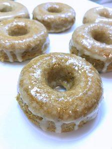 Baked Apple Cider Donuts (Vegan & Gluten Free)