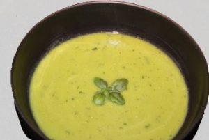 Spring Pea & Basil Soup (Vegan & Gluten Free)
